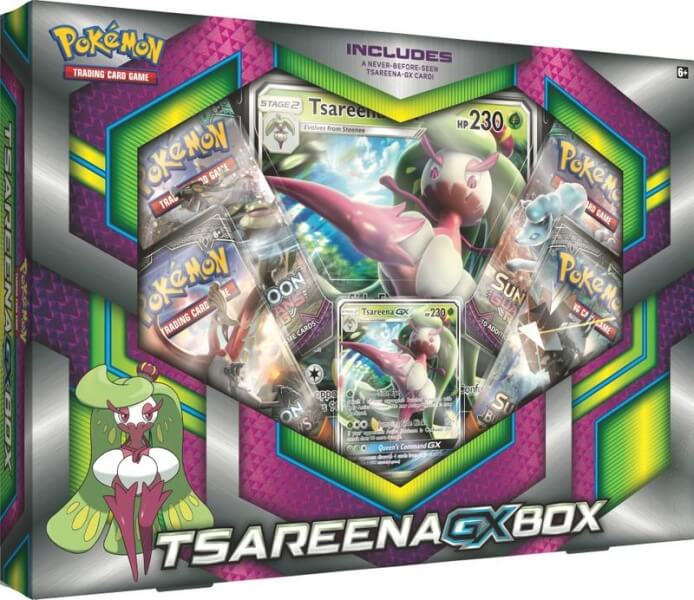 Pokémon Tsareena-GX Box