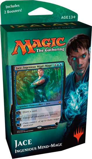 Magic the Gathering Ixalan Planeswalker Deck: Jace, Ingenious Mind Mage