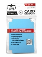 Oddělovač na karty Ultimate Guard Card Dividers Standard Size Light Blue - 10ks