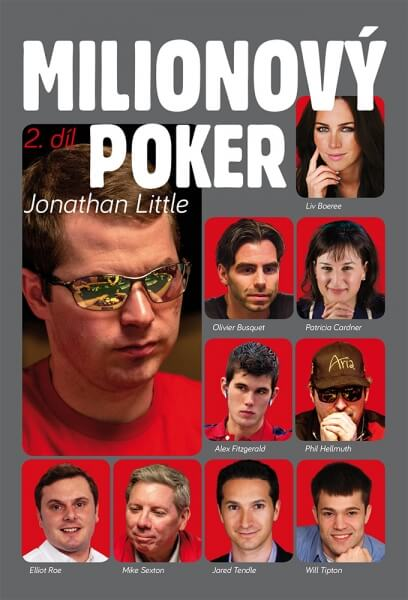 Poker kniha Jonathan Little: Milionový poker - 2. díl