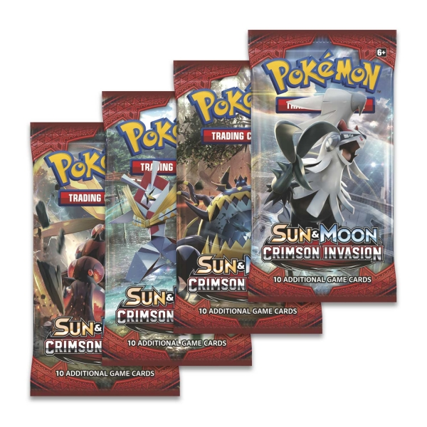 Pokémon Sun and Moon - Crimson Invasion Booster