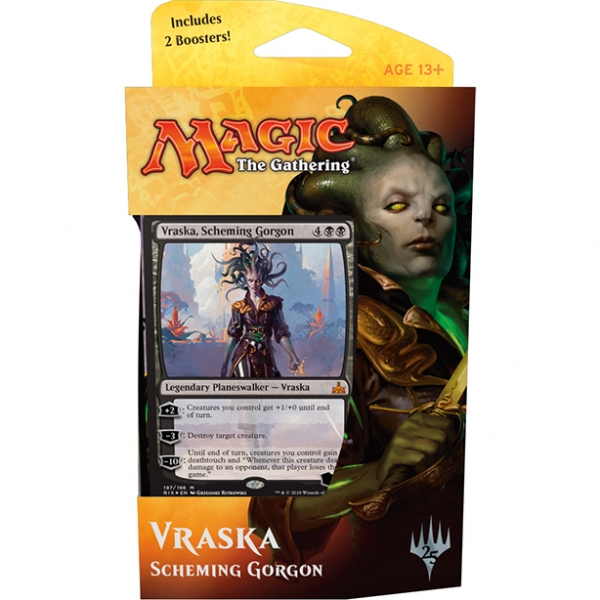 Magic the Gathering Rivals of Ixalan Planeswalker Deck: Vraska, Scheming Gorgon