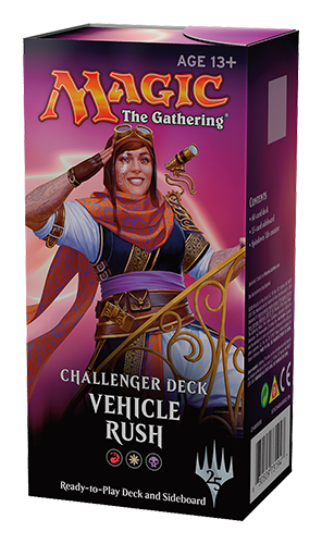 Magic the Gathering Challenger Deck - Vehicle Rush