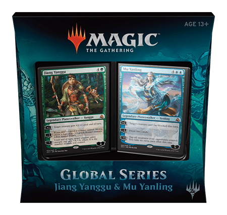 Magic the Gathering Global Series Jiang Yanggu and Mu Yanling