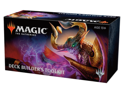 Magic the Gathering Magic 2019 Core Set Deckbuilders Toolkit