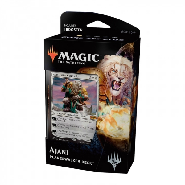 Magic the Gathering Magic 2019 Core Set Planeswalker Deck: Ajani