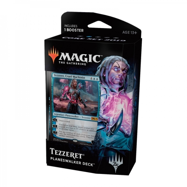 Magic the Gathering Magic 2019 Core Set Planeswalker Deck: Tezzeret