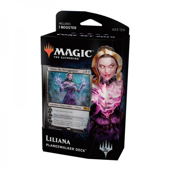 Magic the Gathering Magic 2019 Core Set Planeswalker Deck: Liliana