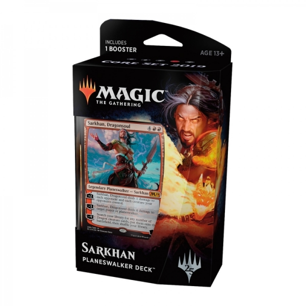 Magic the Gathering Magic 2019 Core Set Planeswalker Deck: Sarkhan