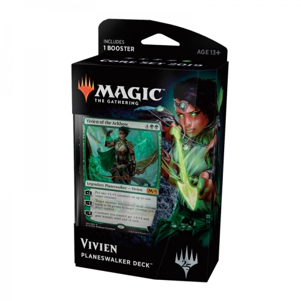 Magic the Gathering Magic 2019 Core Set Planeswalker Deck: Vivien
