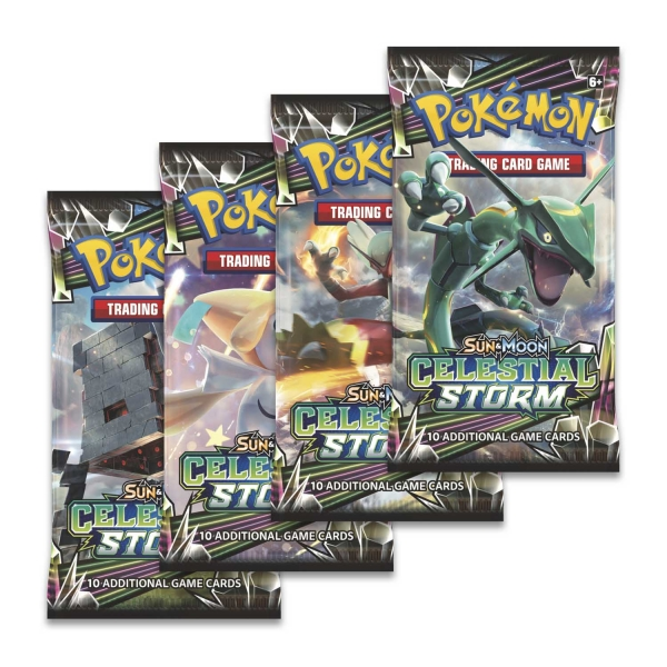 Pokémon Sun and Moon - Celestial Storm Booster