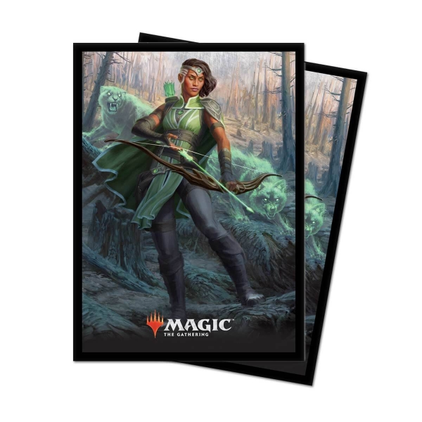 Obaly na karty Magic 2019 Core Set: Vivien Reid - 80 ks