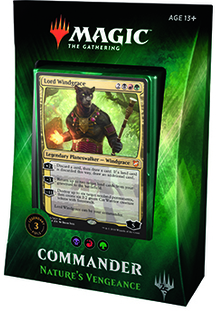 Magic the Gathering Commander 2018 - Nature's Vengeance