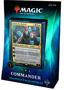 Magic the Gathering Commander 2018 - Adaptive Enchantment