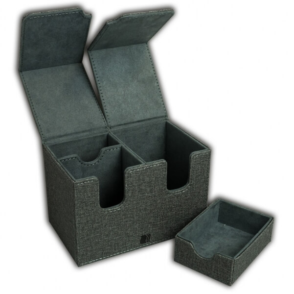 Krabička Blackfire Dual 160+ Standard (with Dice Tray) - Grey