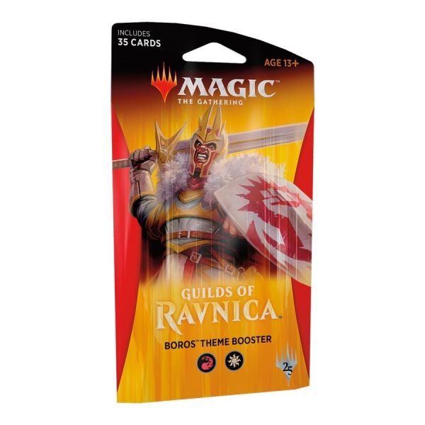 Magic the Gathering Guilds of Ravnica Theme Booster - Boros