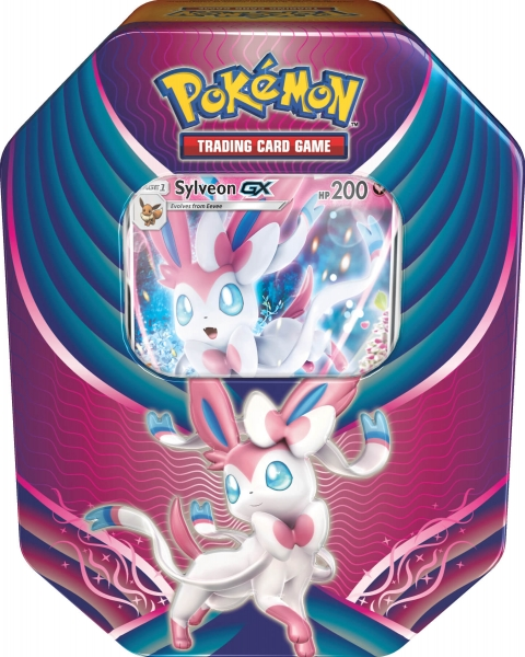 Pokémon Evolution Celebration Tin - Sylveon-GX
