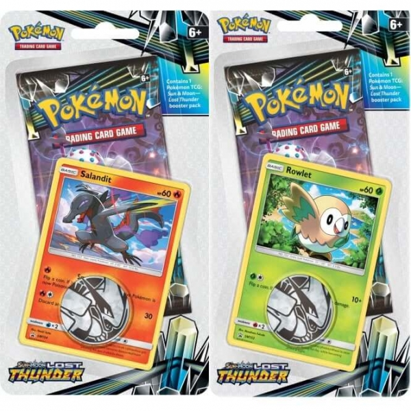 Pokémon Sun and Moon - Lost Thunder Check Lane Blister