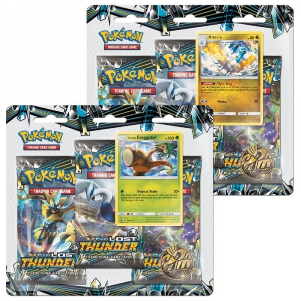 Pokémon Sun and Moon - Lost Thunder 3 Pack Blister