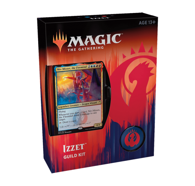 Magic the Gathering Guilds of Ravnica Guild Kit - Izzet