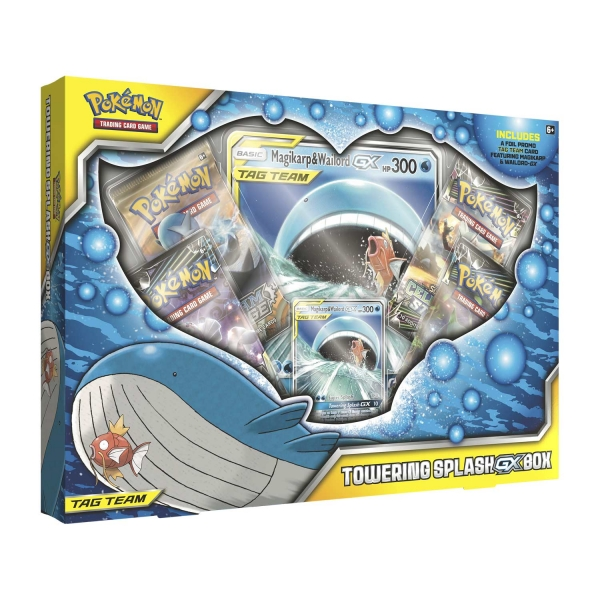 Pokémon Towering Splash-GX Box