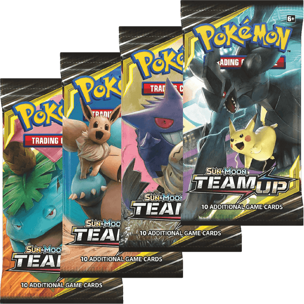 Pokémon Sun and Moon - Team Up Booster