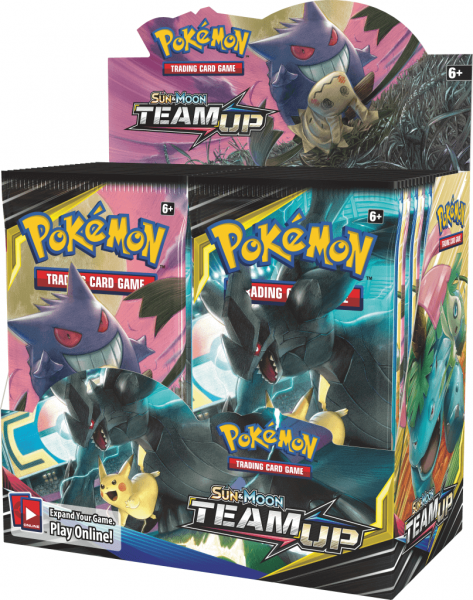 Pokémon Sun and Moon - Team Up Booster Box