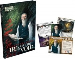Arkham Horror Novels: Ire of the Void - kniha a karty
