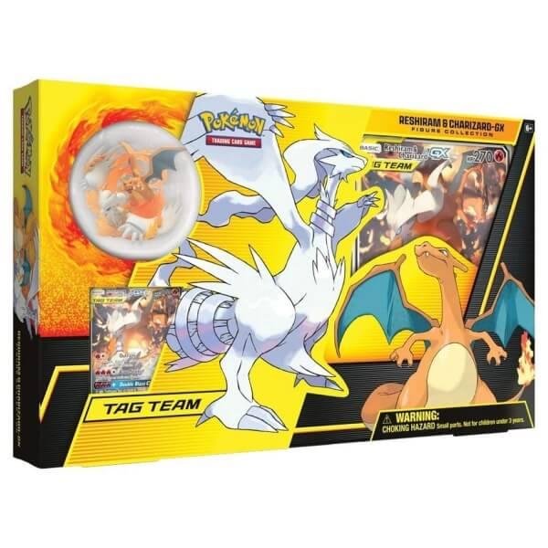 Pokémon Reshiram & Charizard-GX Figure Collection