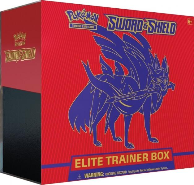 Pokémon Sword and Shield Elite Trainer Box - Zacian