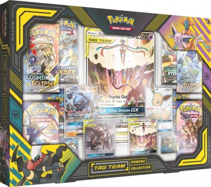 Pokémon Tag Team Powers Collection - Espeon & Deoxys-GX