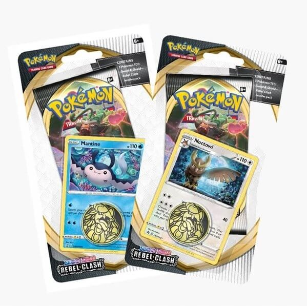 Pokémon Sword and Shield - Rebel Clash Check Lane Blister