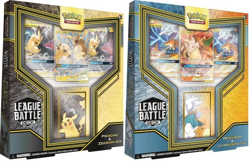 Pokémon League Battle Decks: Pikachu & Zekrom-GX vs. Reshiram & Charizard-GX