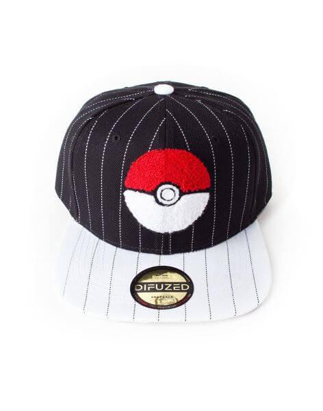 Kšiltovka Pokémon Pokéball Varsity Snapback