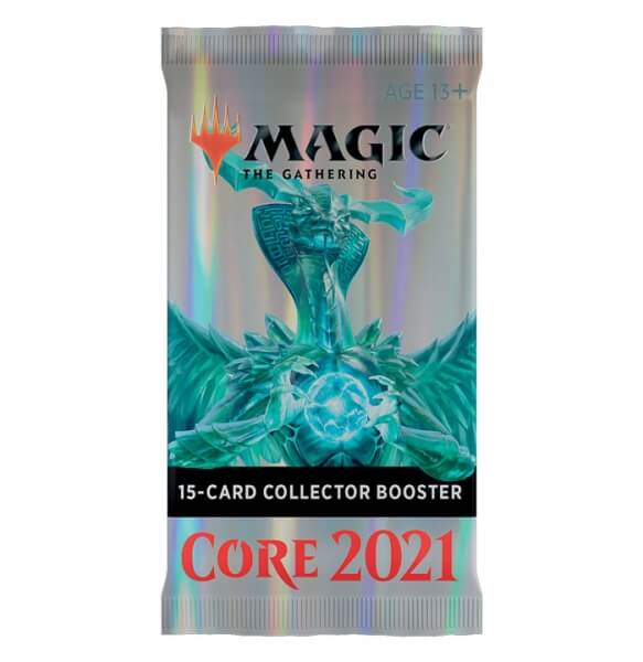 Levně Magic the Gathering Magic 2021 Core Set Collector Booster