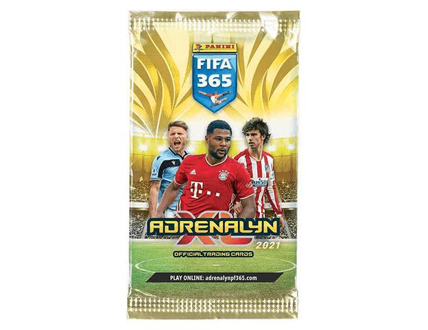 Levně PANINI FIFA 365 2020/2021 - ADRENALYN - karty