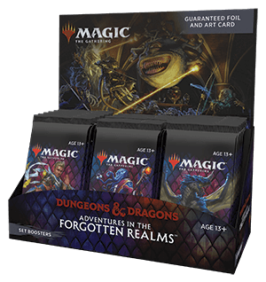 Levně Magic the Gathering Adventures in the Forgotten Realms Set Booster Box